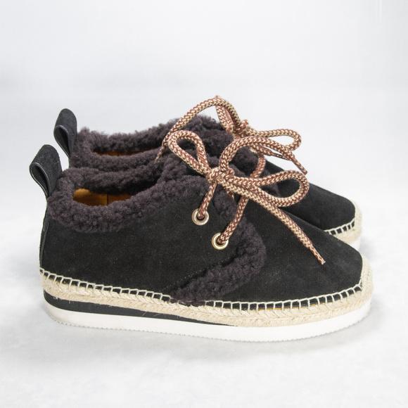 Chloe Espadrille Sneakers Size